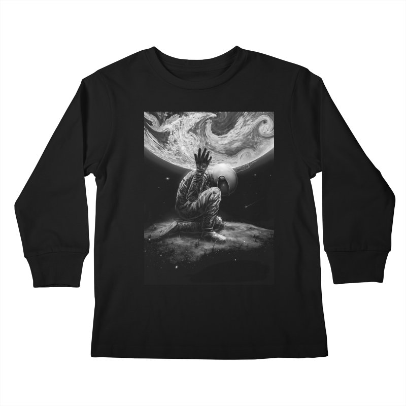 Atlas Kids Longsleeve T-Shirt by nicebleed