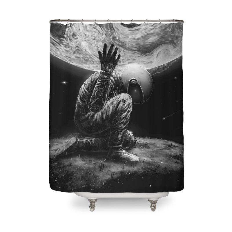 Atlas Home Shower Curtain by nicebleed