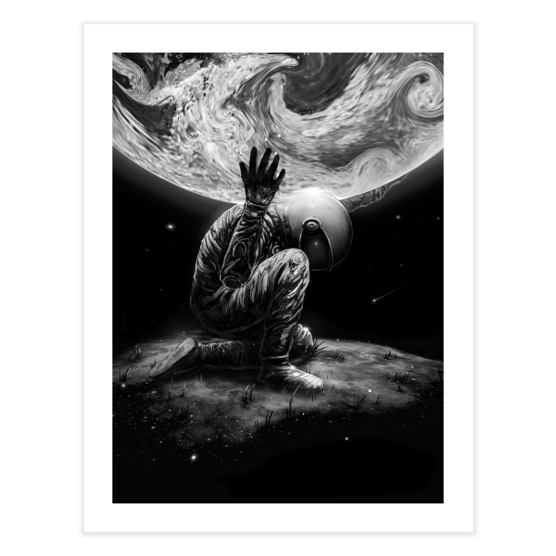 Atlas Home Fine Art Print by nicebleed