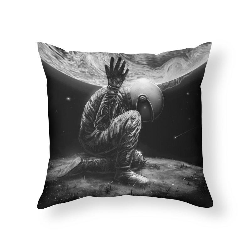 Atlas Home Throw Pillow by nicebleed