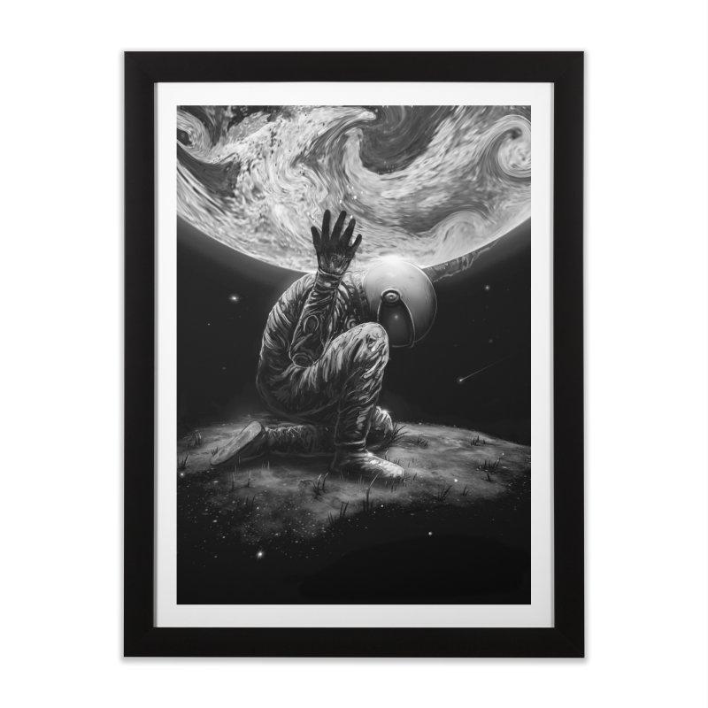 Atlas Home Framed Fine Art Print by nicebleed