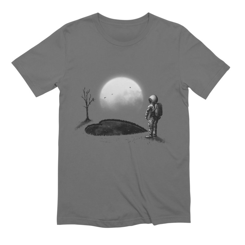 Love Hole in Men's Extra Soft T-Shirt Asphalt by nicebleed