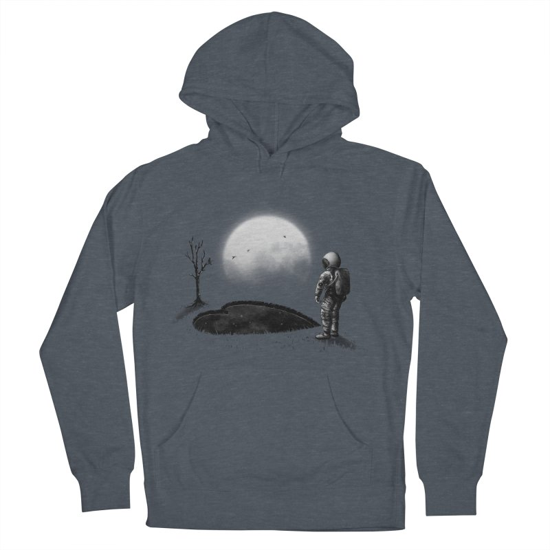 Love Hole Men's French Terry Pullover Hoody by nicebleed