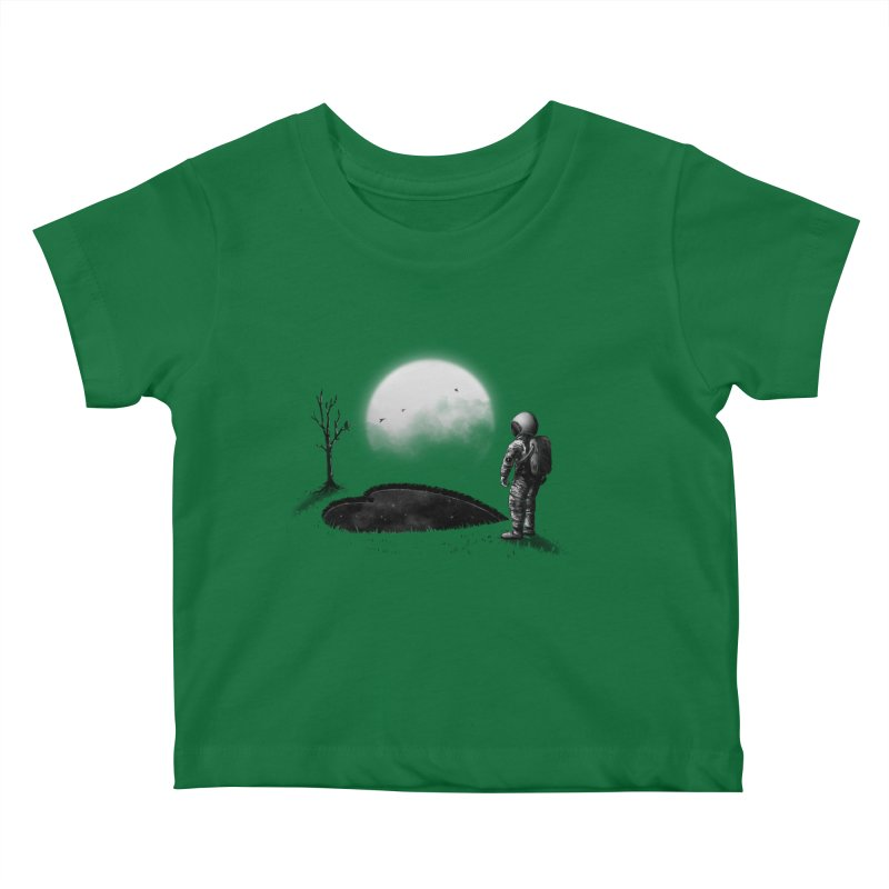 Love Hole Kids Baby T-Shirt by nicebleed