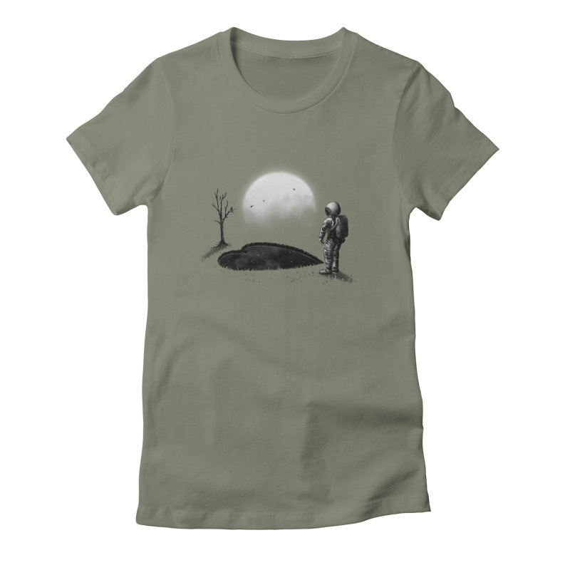 Love Hole Women's Fitted T-Shirt by nicebleed