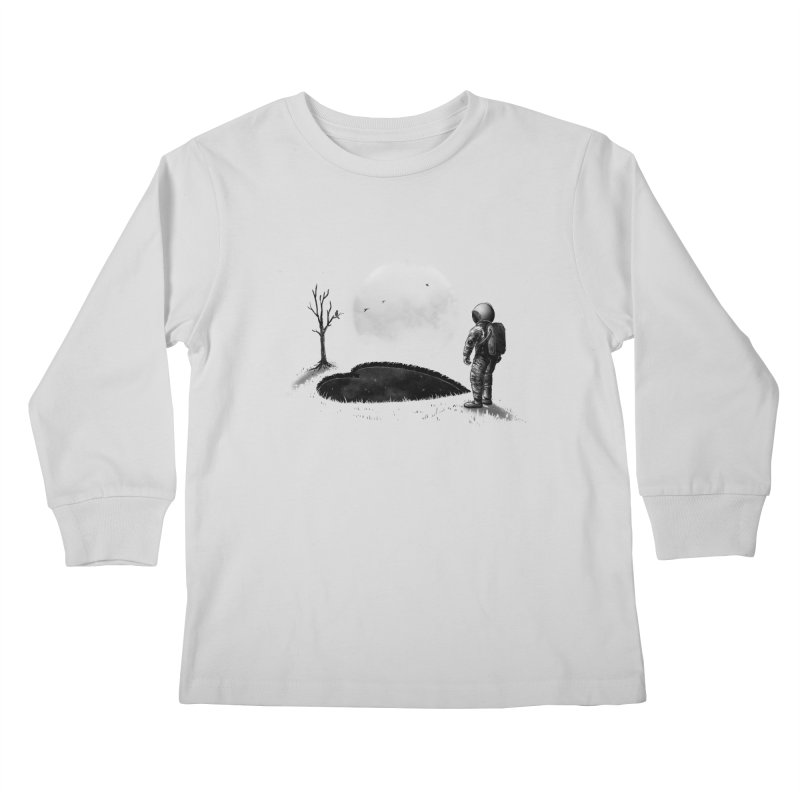 Love Hole Kids Longsleeve T-Shirt by nicebleed
