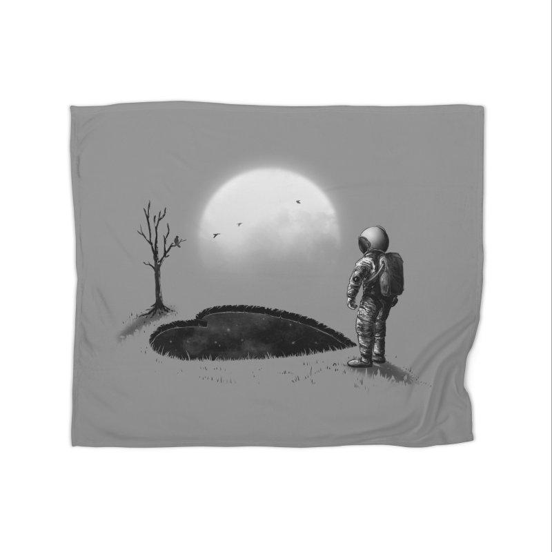 Love Hole Home Blanket by nicebleed
