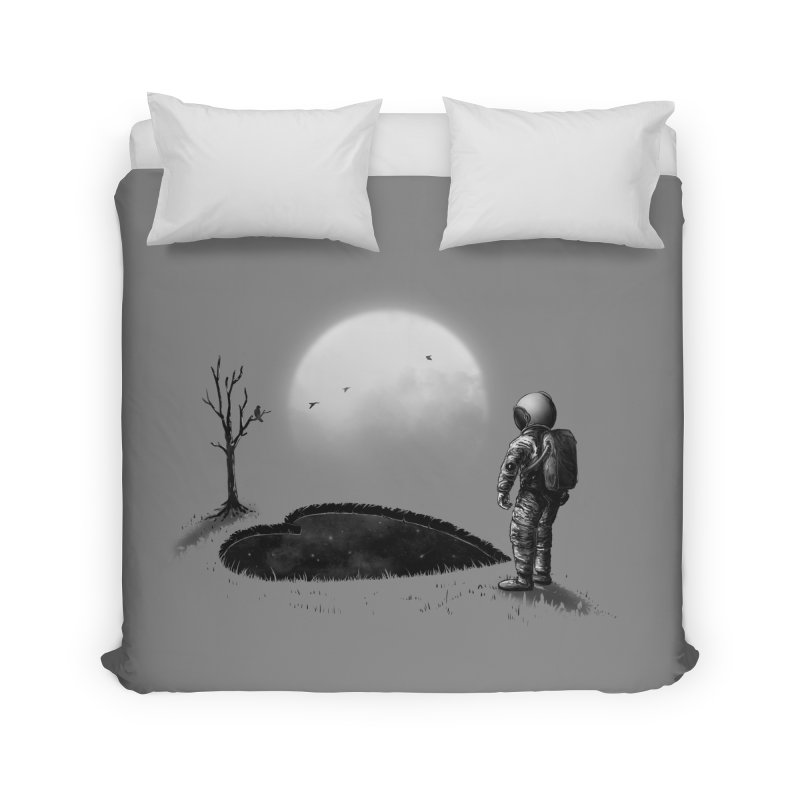 Love Hole Home Duvet by nicebleed