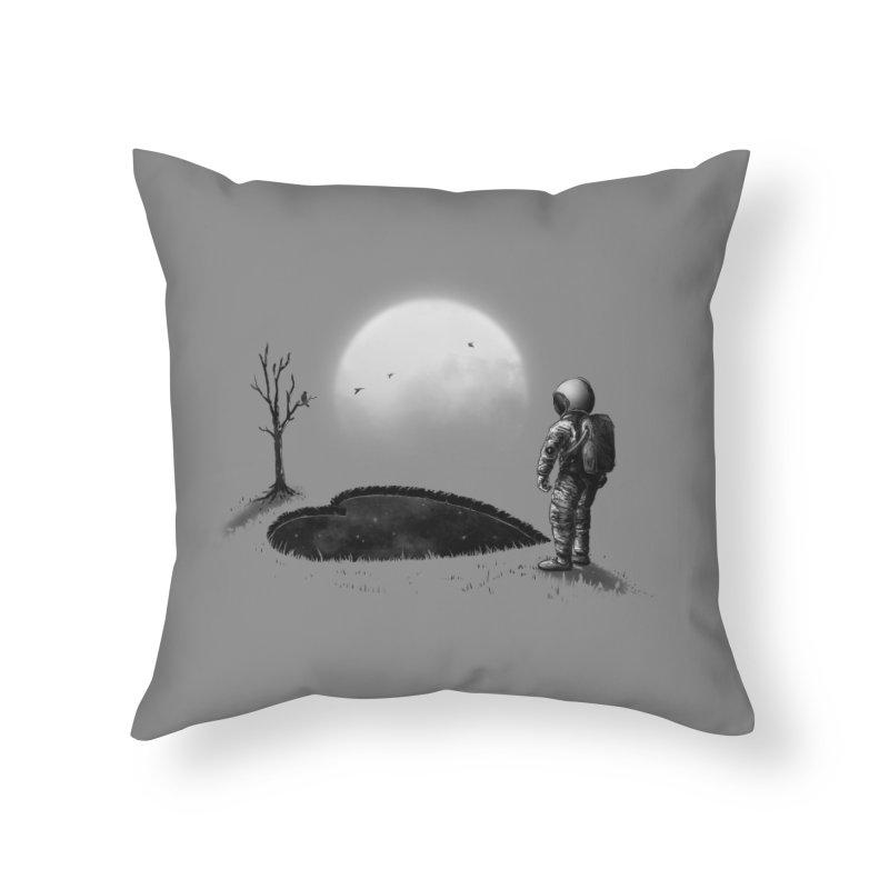 Love Hole Home Throw Pillow by nicebleed