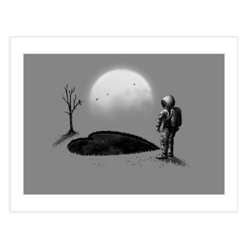 Love Hole Home Fine Art Print by nicebleed