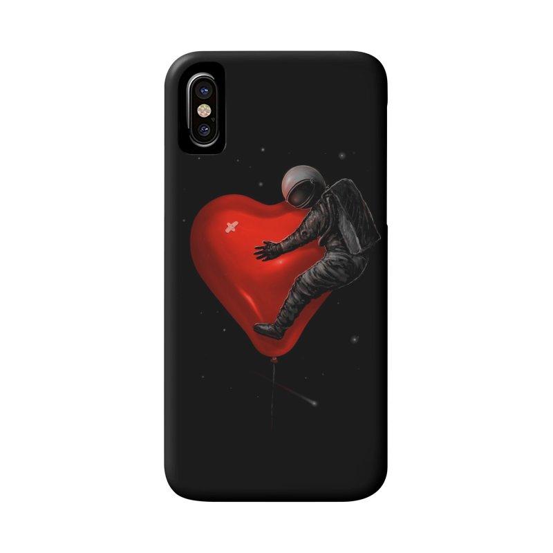 Space Love Accessories Phone Case by nicebleed