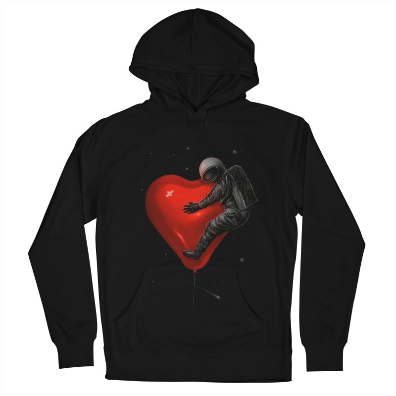 Space Love Women's French Terry Pullover Hoody by nicebleed