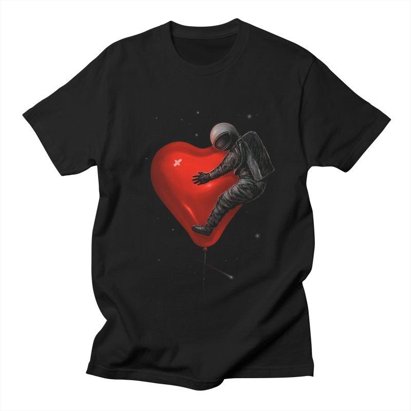 Space Love Women's Regular Unisex T-Shirt by nicebleed