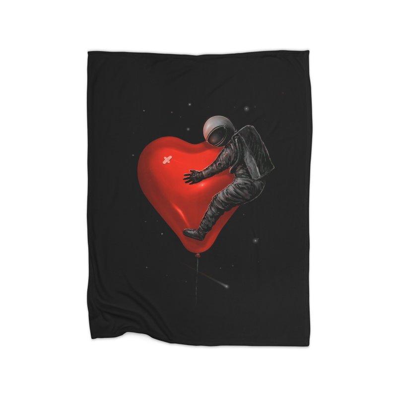 Space Love Home Blanket by nicebleed