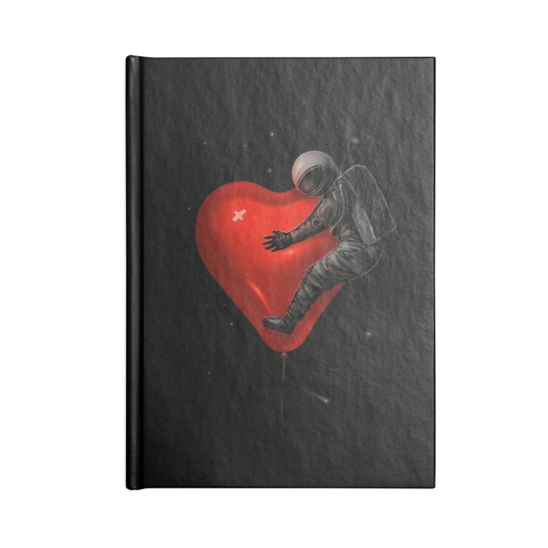 Space Love Accessories Notebook by nicebleed