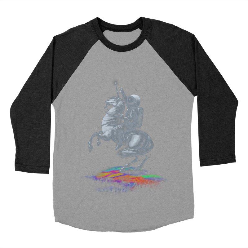 Across The Unicverse Men's Baseball Triblend Longsleeve T-Shirt by nicebleed