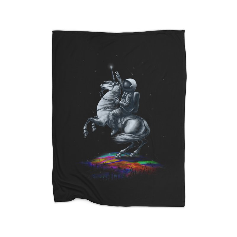 Across The Unicverse Home Blanket by nicebleed
