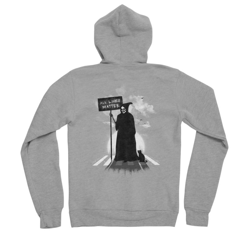 A Death's Revolution Women's Sponge Fleece Zip-Up Hoody by nicebleed