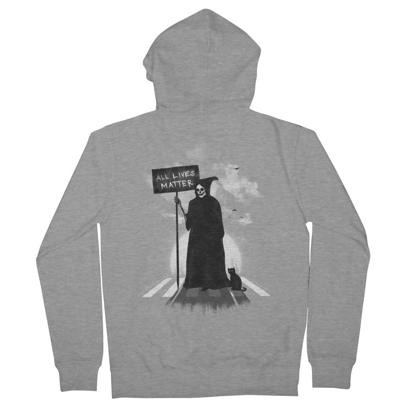 A Death's Revolution Men's French Terry Zip-Up Hoody by nicebleed