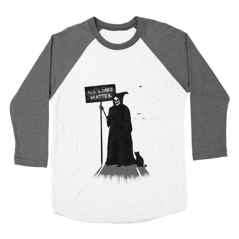A Death's Revolution Men's Baseball Triblend Longsleeve T-Shirt by nicebleed