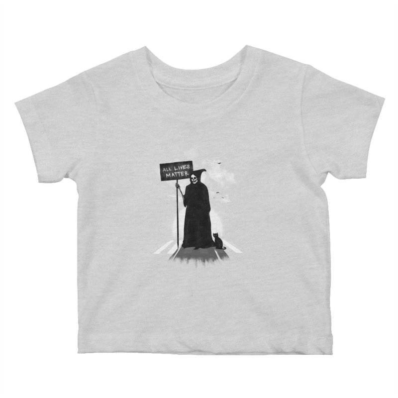 A Death's Revolution Kids Baby T-Shirt by nicebleed