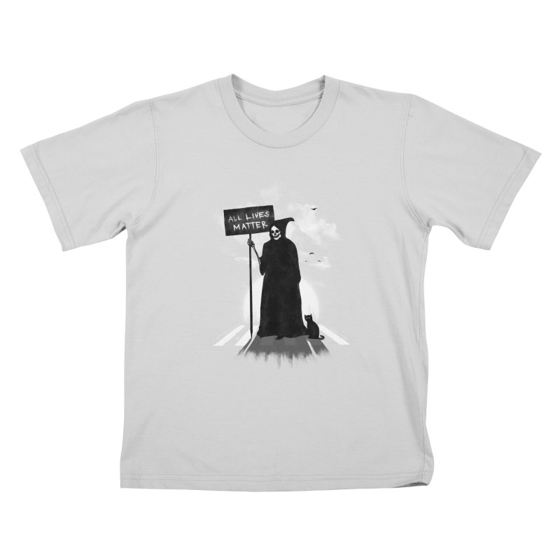 A Death's Revolution Kids T-Shirt by nicebleed