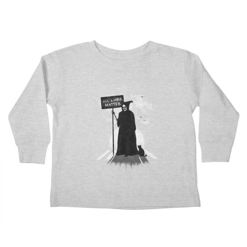 A Death's Revolution Kids Toddler Longsleeve T-Shirt by nicebleed