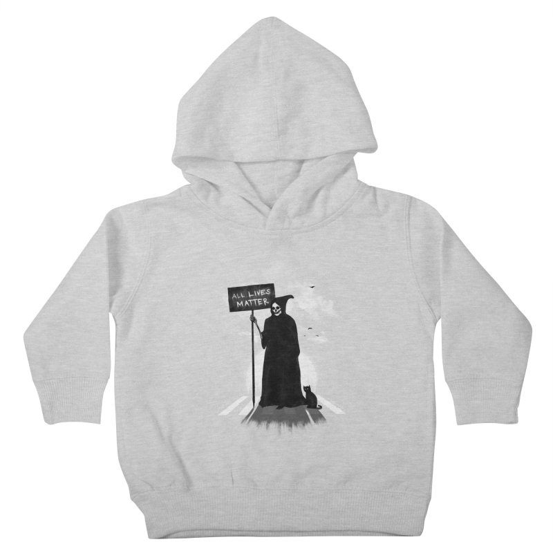 A Death's Revolution Kids Toddler Pullover Hoody by nicebleed