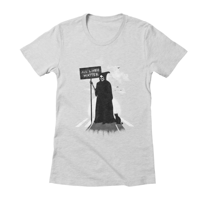 A Death's Revolution Women's Fitted T-Shirt by nicebleed