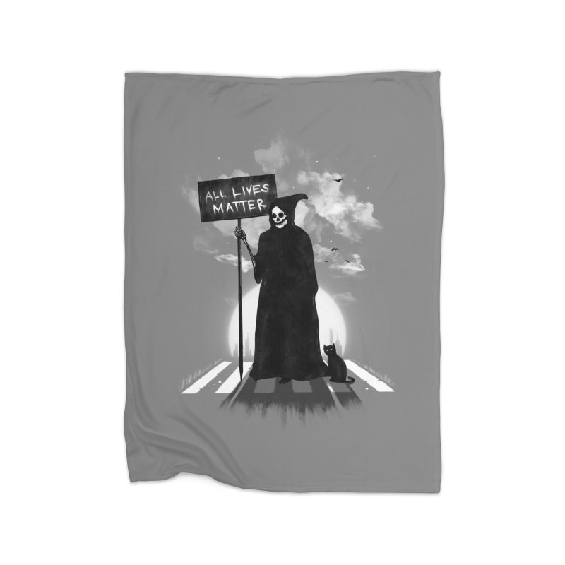 A Death's Revolution Home Blanket by nicebleed