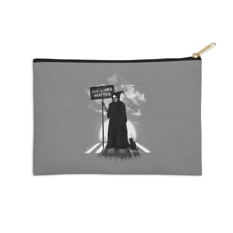 A Death's Revolution Accessories Zip Pouch by nicebleed