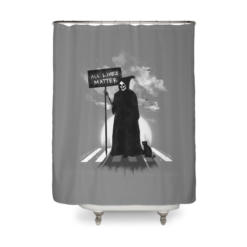 A Death's Revolution Home Shower Curtain by nicebleed