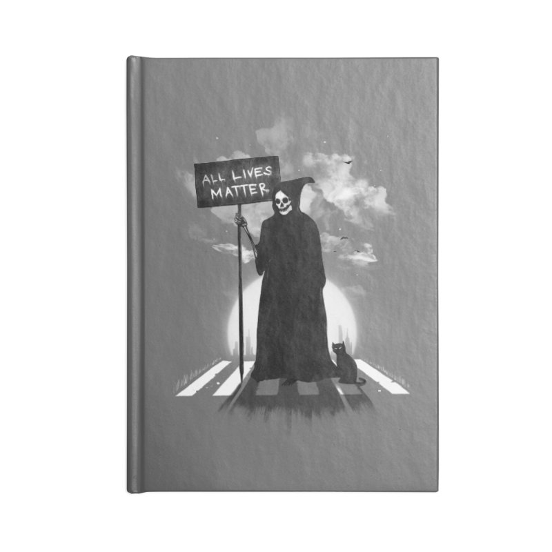 A Death's Revolution Accessories Blank Journal Notebook by nicebleed