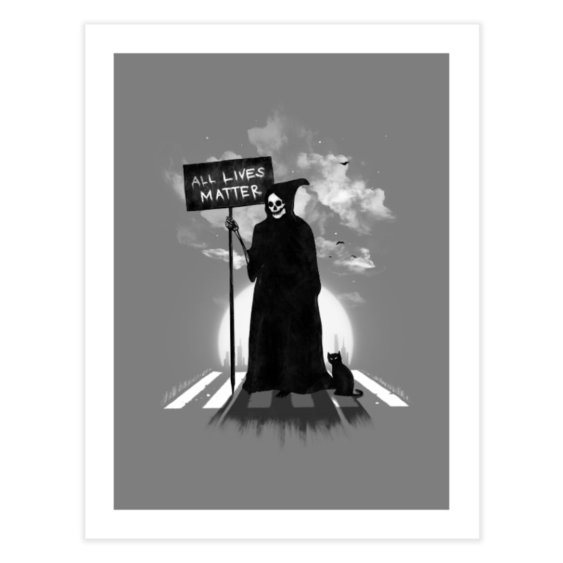 A Death's Revolution Home Fine Art Print by nicebleed