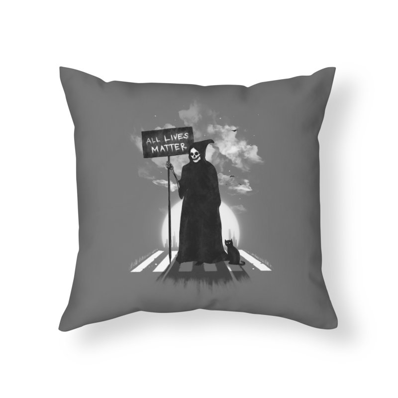 A Death's Revolution Home Throw Pillow by nicebleed