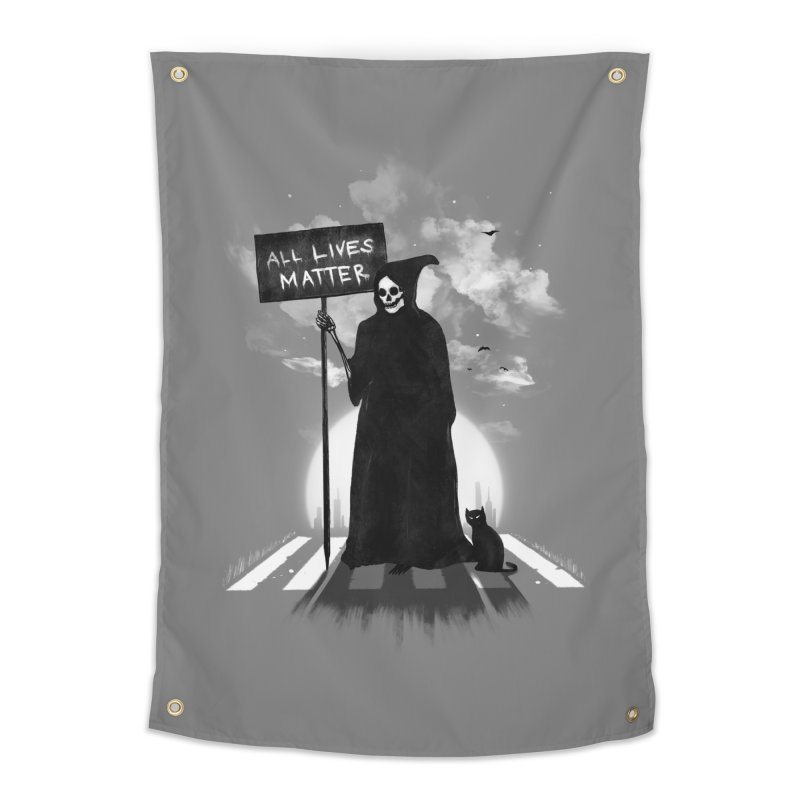 A Death's Revolution Home Tapestry by nicebleed