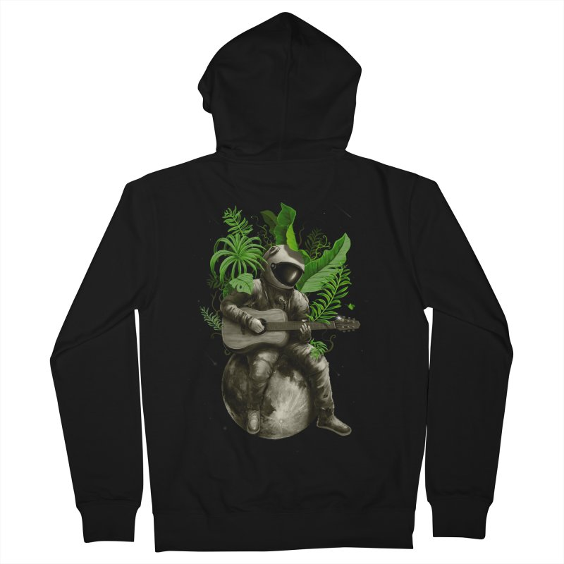 Astropical Strum Women's French Terry Zip-Up Hoody by nicebleed