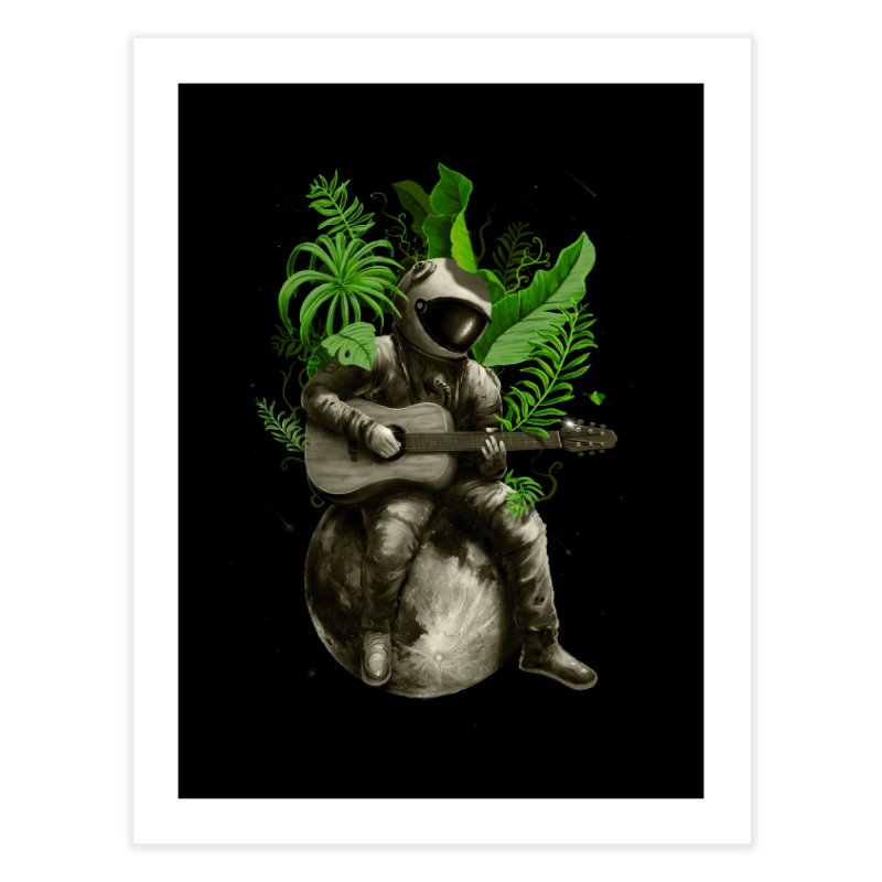 Astropical Strum Home Fine Art Print by nicebleed