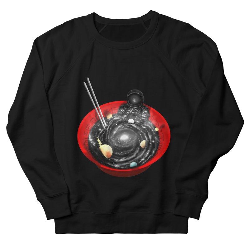 Space Ramen Bath Men's French Terry Sweatshirt by nicebleed