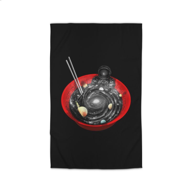 Space Ramen Bath Home Rug by nicebleed
