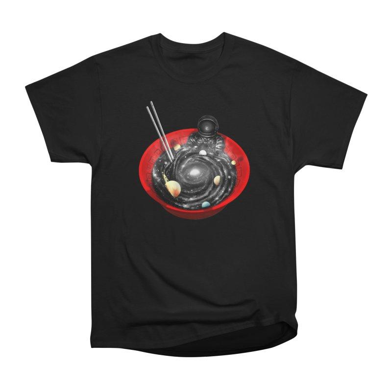 Space Ramen Bath Men's Heavyweight T-Shirt by nicebleed