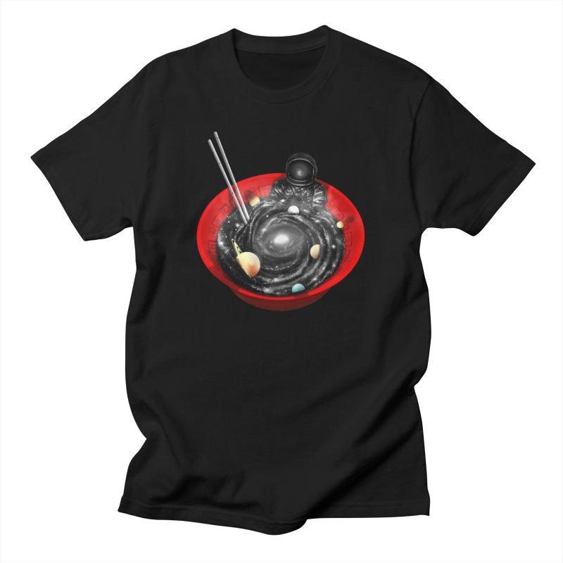 Space Ramen Bath Women's Regular Unisex T-Shirt by nicebleed