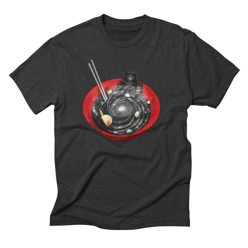Space Ramen Bath Men's Triblend T-Shirt by nicebleed