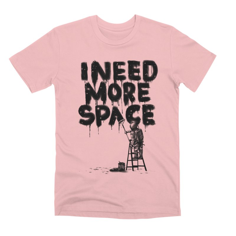 I Need More Space Men's Premium T-Shirt by nicebleed