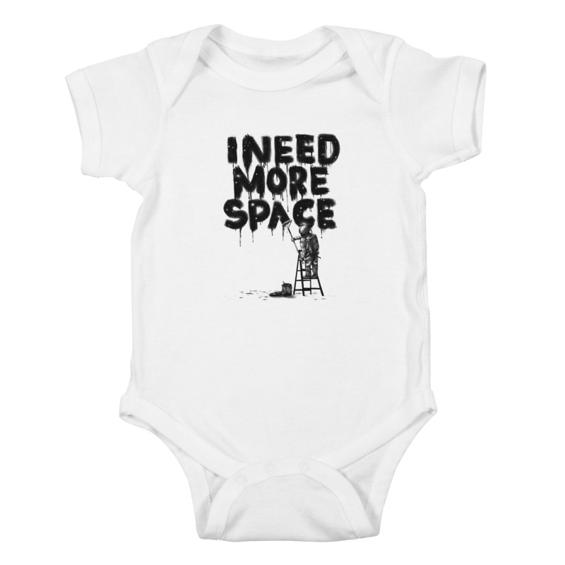 I Need More Space Kids Baby Bodysuit by nicebleed