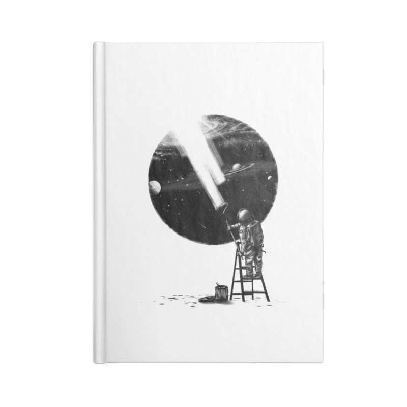 I Need More Space Accessories Blank Journal Notebook by nicebleed