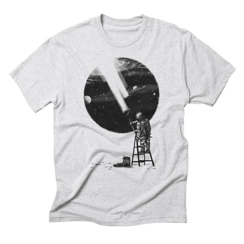 I Need More Space Men's Triblend T-Shirt by nicebleed