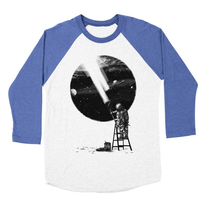 I Need More Space Men's Baseball Triblend Longsleeve T-Shirt by nicebleed