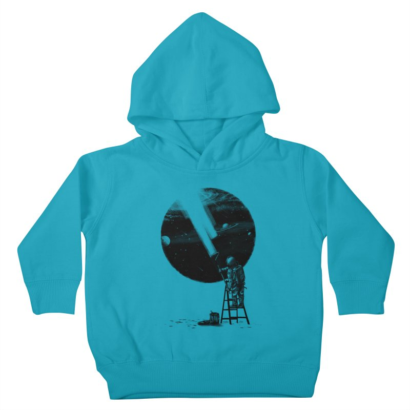 I Need More Space Kids Toddler Pullover Hoody by nicebleed