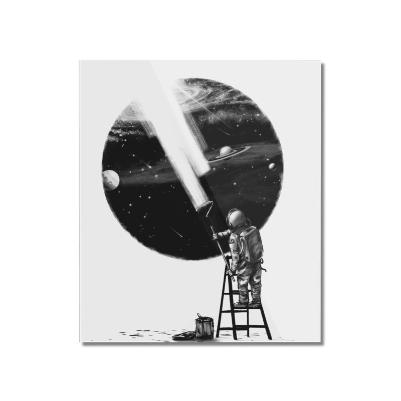 I Need More Space Home Mounted Acrylic Print by nicebleed
